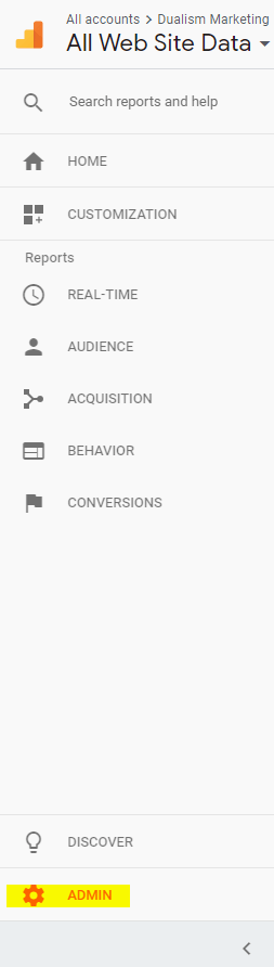 Link Google Adwords with Google Analytics 1