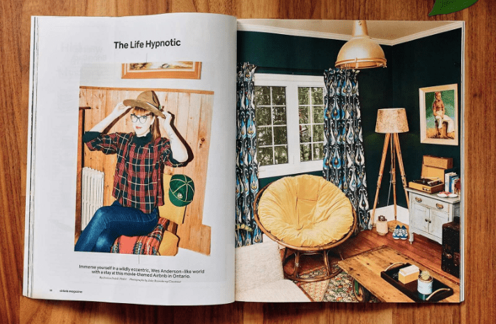 airbnb magazine screenshot